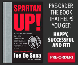 """SPARTAN UP!"" is the new book by Spartan Race founder Joe DeSena..."