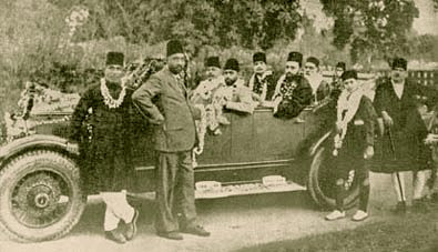 Sir Mohammed Iqbal in Allahbad