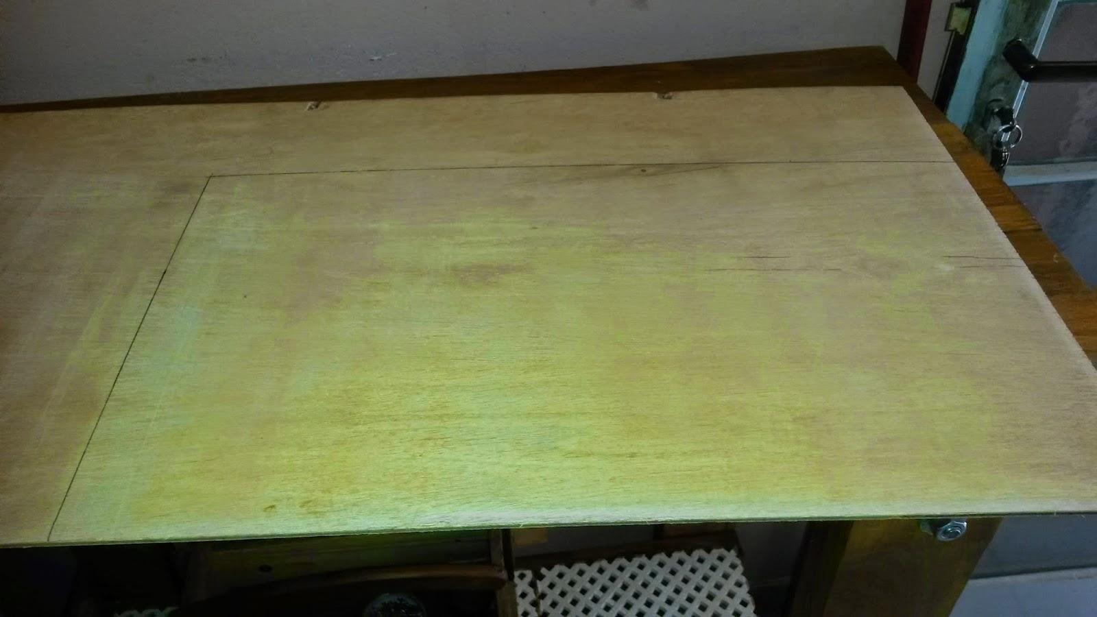 Oficina do Quintal: Como fazer uma bancada para Tupia #738A41 1600x900