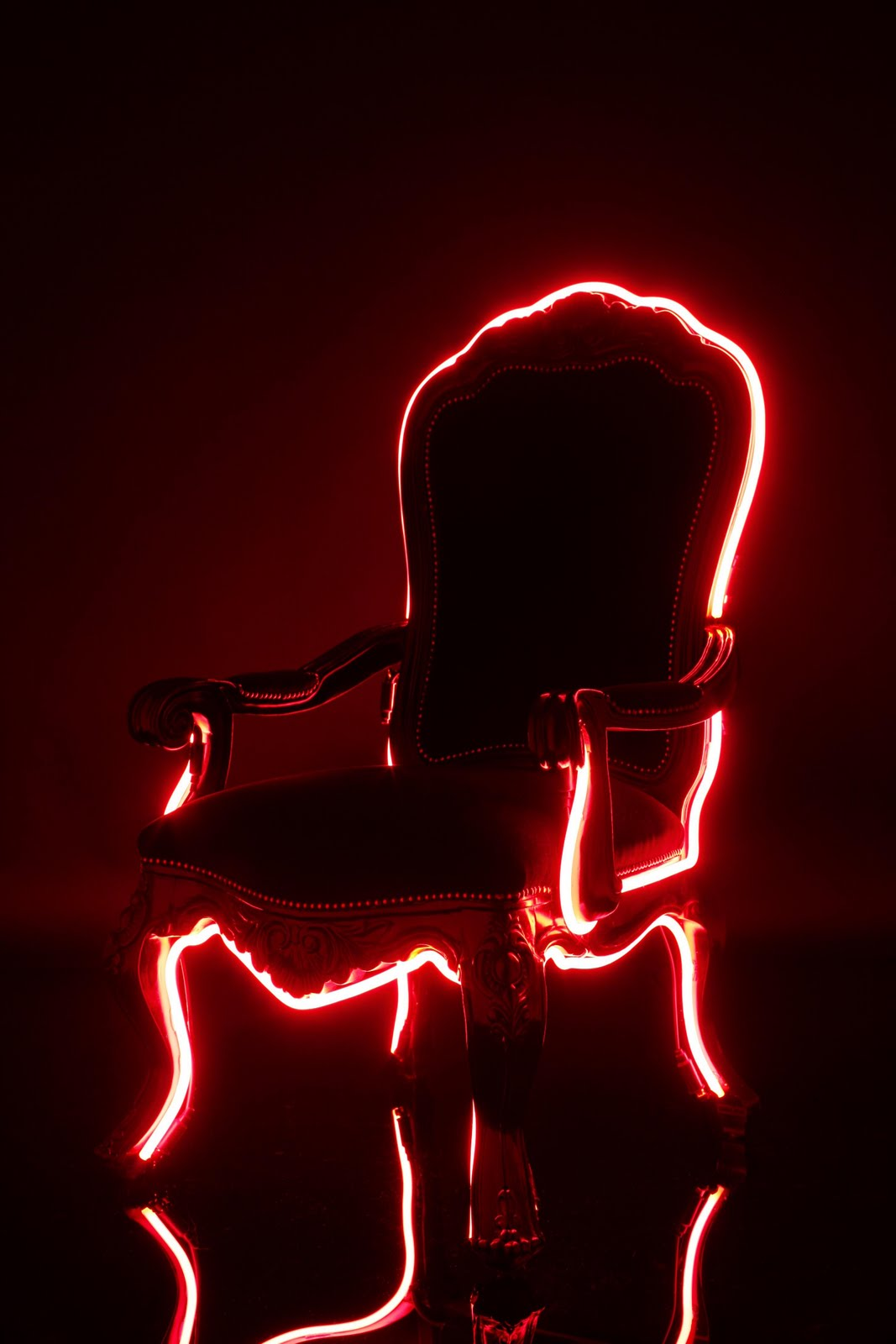 neon furniture. Re-discovered London Based Interior Designer, Lee Broom, And His 2007 Neo Neon Furniture Collection. Even Though The Collection Is Four Years Old, E