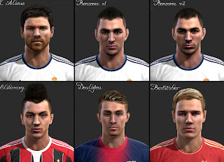 PES 2013 Facepack by vietanhltk