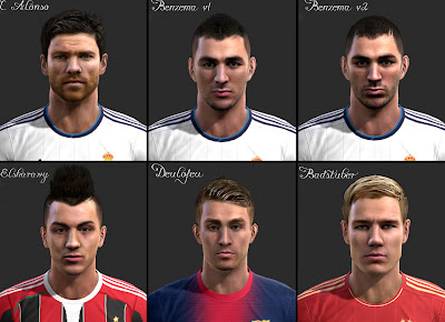 Download Facepack by vietanhltk PES 2013