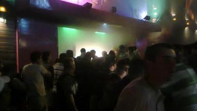 foto del incendio en discoteca de brasil, tomada por un celular