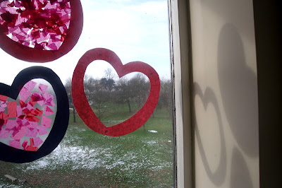 HEART SHAPED SUNCATCHERS