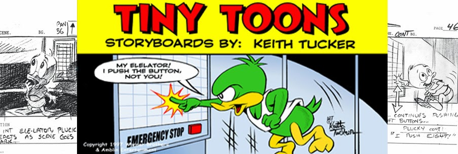 Tiny Toons Storyboards By Keith Tucker