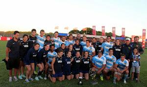 Pumas 7's campeones del Seven de Mar del Plata.