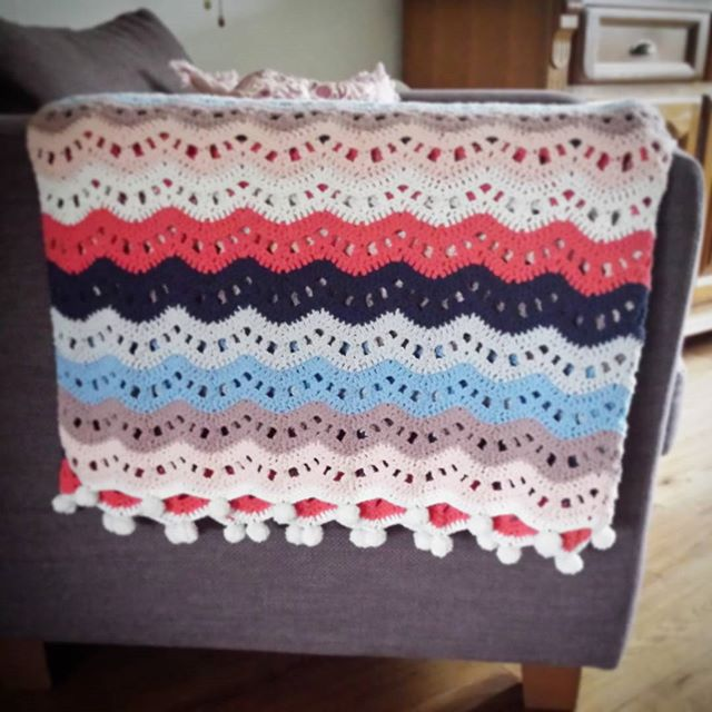 Ripple street blanket
