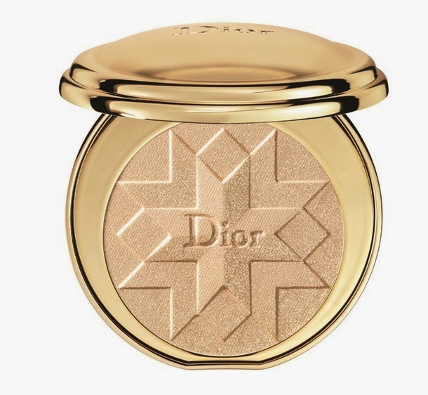 Diorific Illuminating Pressed Powder in Gold Shock