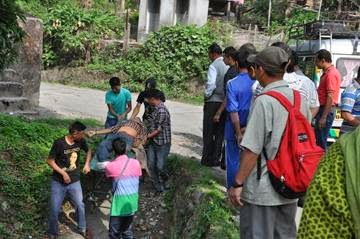 Two killed four injured in an accident near Rely-Pala Kalimpong