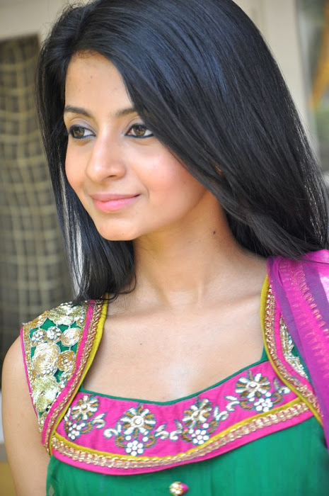 Amrutha in Anarkali Suit, Designer Wear Anarkali Suits from India