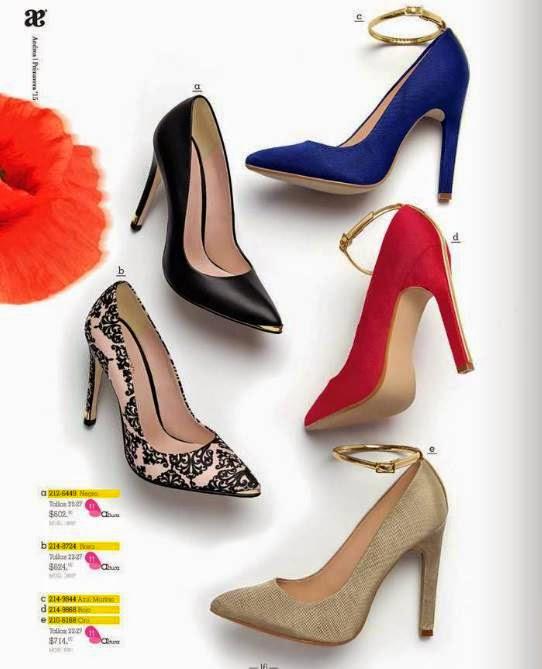 Zapatos detalles de lujo Andrea P-2015