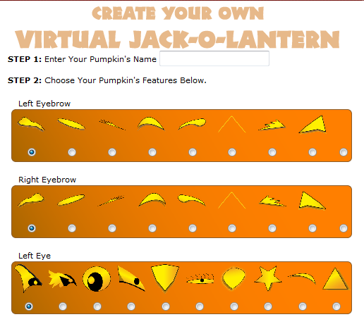 Tech Coach Halloween Interactive Online Games And More