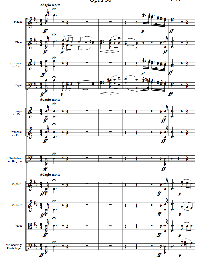 All Music Chords beethoven s 5th sheet music : The Music Salon: Beethoven: Symphony No. 2