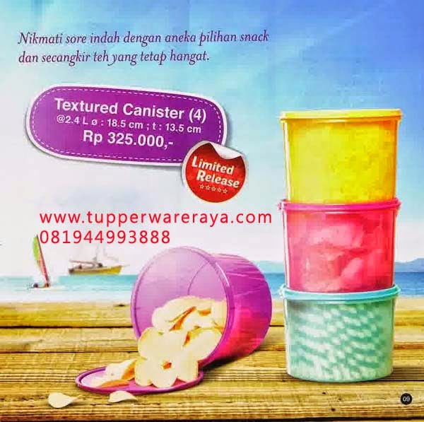 Tupperware Promo Mei 2014 Textured Canister