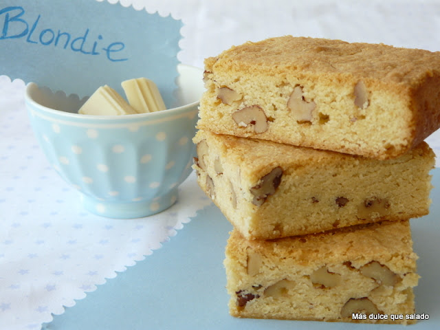 Blondie Con Nueces De Pecan