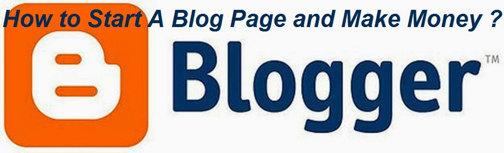 How to Start A Blog Page and Make Money : eAskme