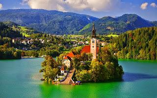 Lake Bled Cool Desktop Wallpaper