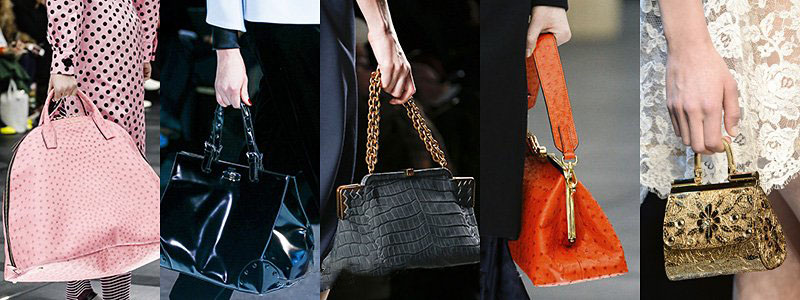 Winter 2013 Women's Handbags Fashion Trends