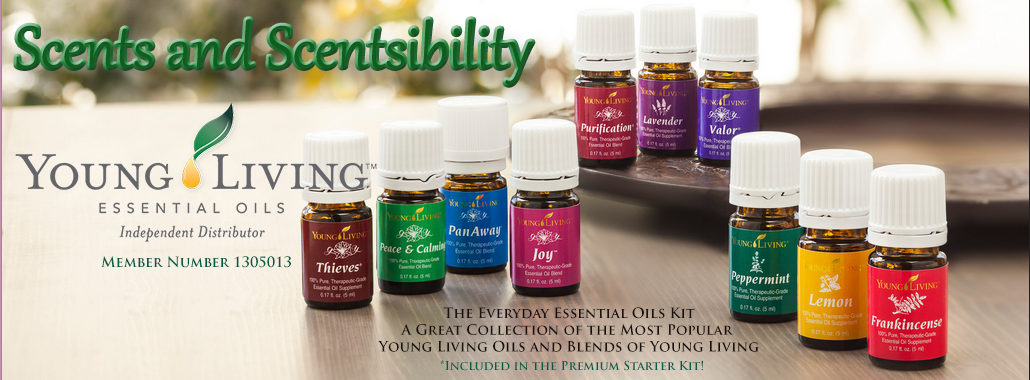 Scents & Scentsibility, Young Living Oils