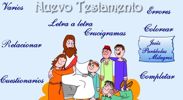 Educar con Jess Jugar con el Antiguo y el Nuevo Testamento