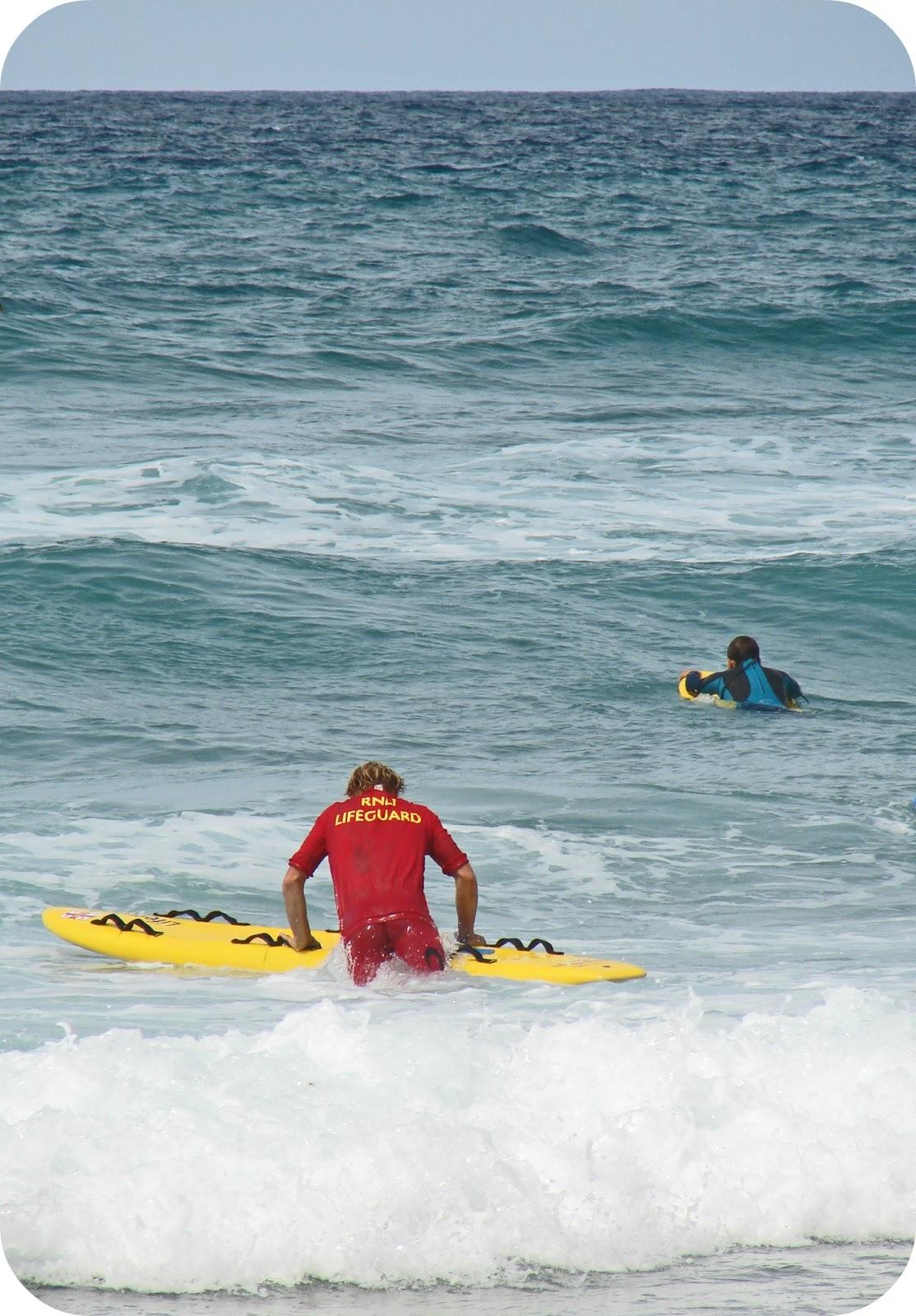 Newquay RNLI Lifeguard