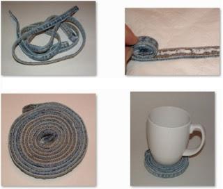 Como Hacer Posa Vasos con Material Reciclado