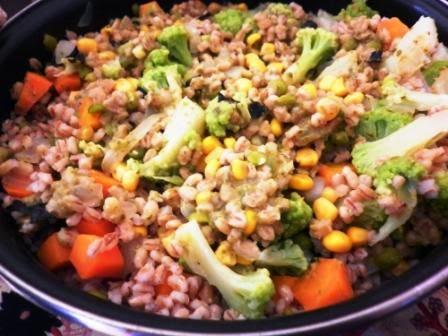 Cocina macrobi tica ensalada de cebada con ali o de for Cocina macrobiotica