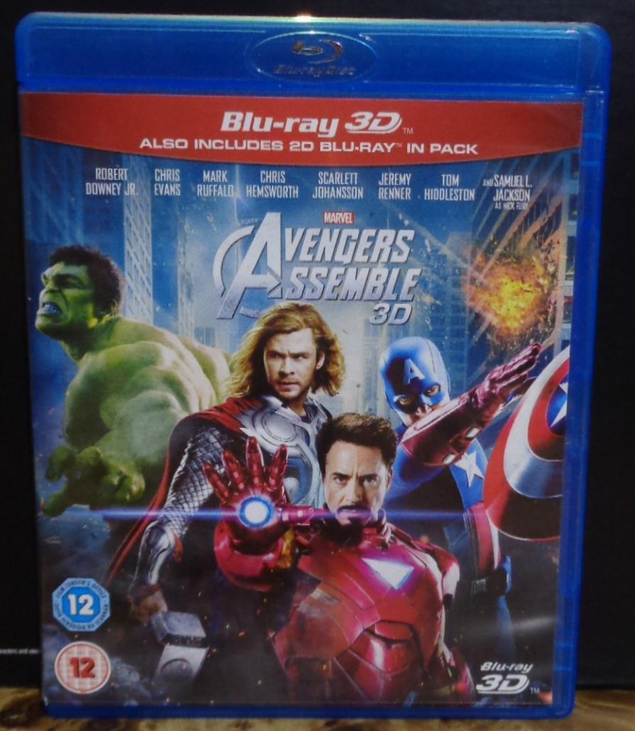 the avengers 2012 blu ray