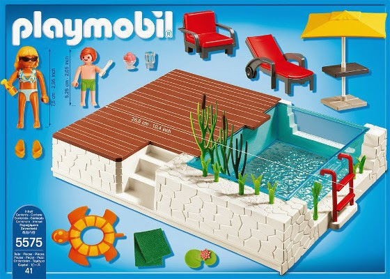 Libros y juguetes 1demagiaxfa juguetes playmobil city for Playmobil piscina con tobogan