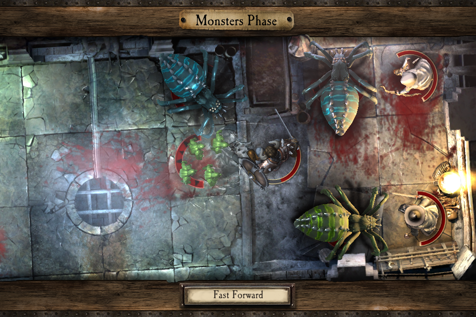 Warhammer Quest iOS review spiders