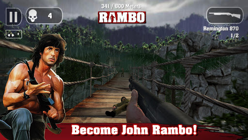 Rambo Apk + Data Android Game