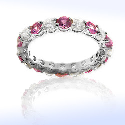 Elegant full-eternity band
