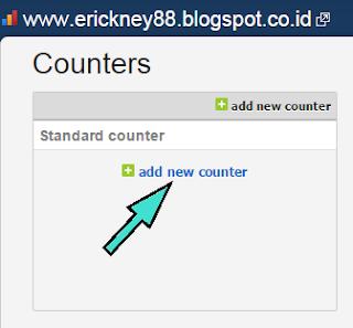Cara Daftar Histats dan Memasang Counter Histats di Blog