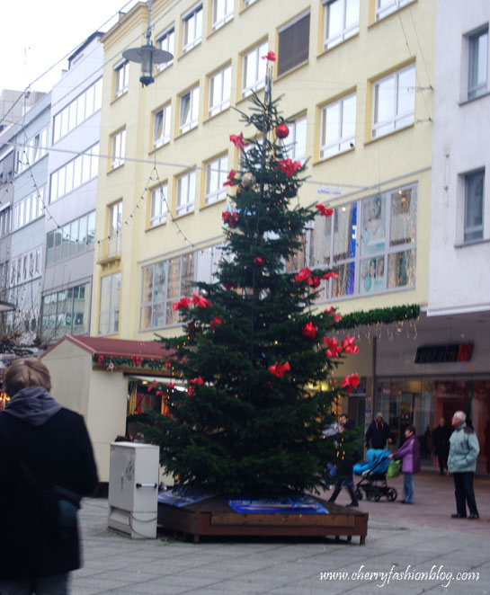 Christmas Tree in Saarbrucken
