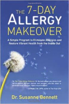 the 7 day allergy  makeover cover