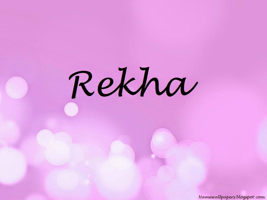 Rekha Name Wallpapers Rekha ~ Name Wallpaper Urdu Name ...