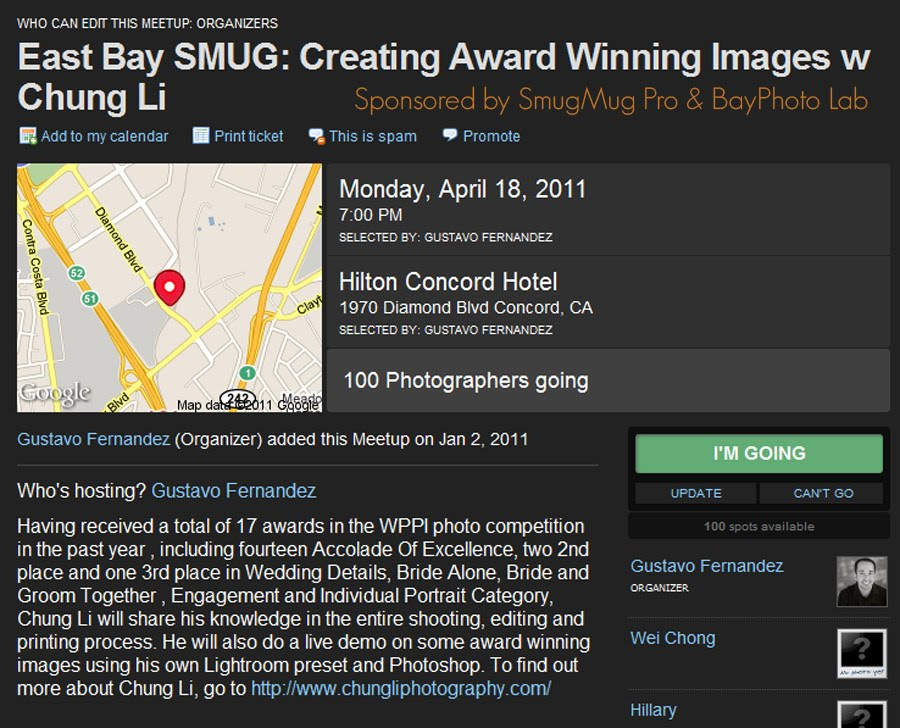 smugmug san francisco photography seminar