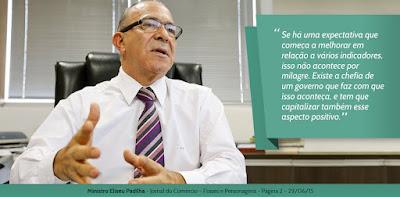Ministro Eliseu Padilha - Jornal do Comércio - Frases e Personagens