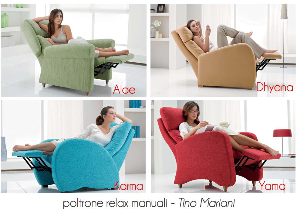 Divani blog tino mariani novit nuove poltrone relax for Poltrone morbide