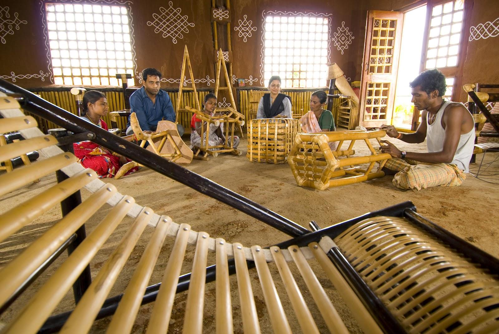 Malkha Bamboo House Exhibition