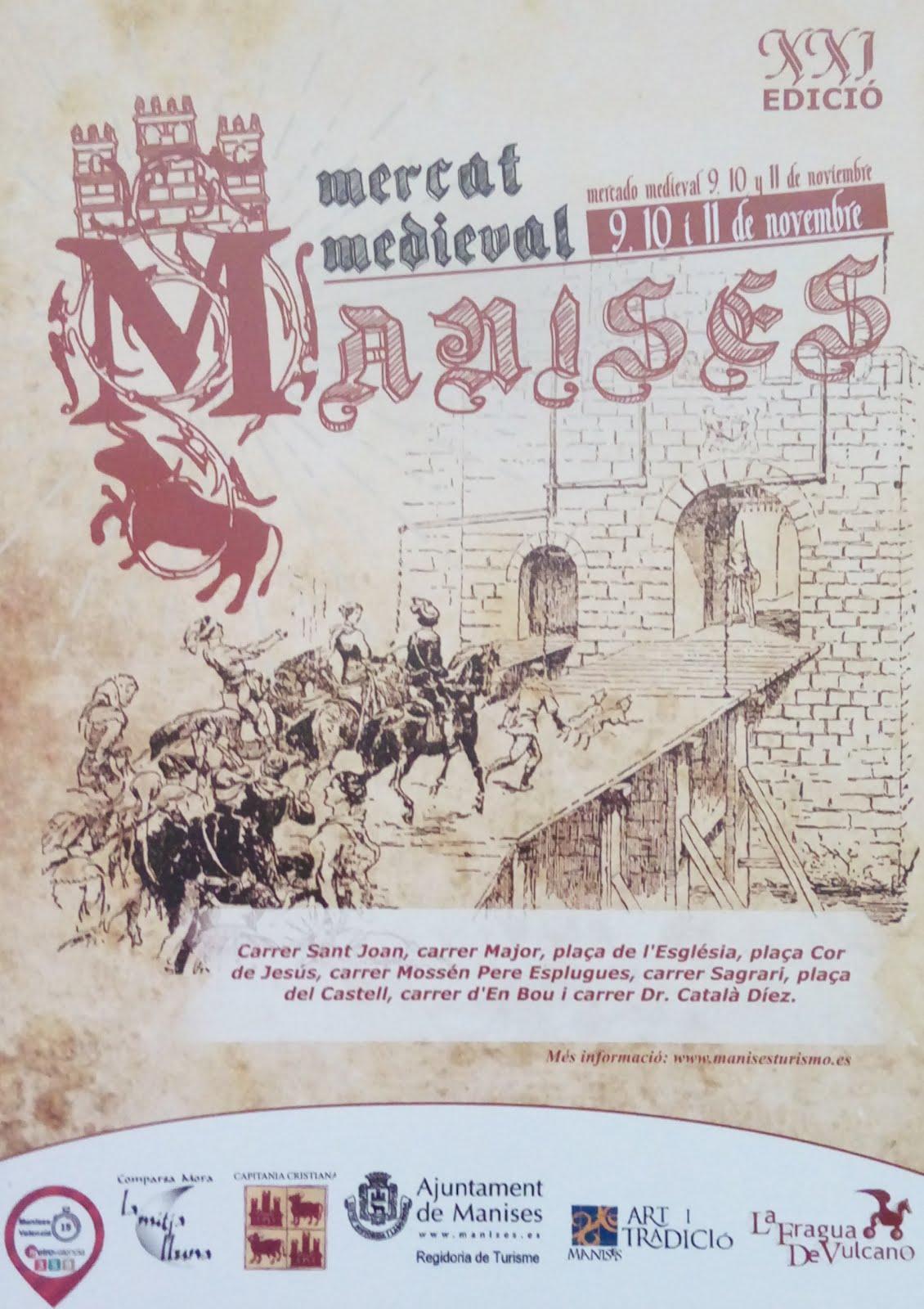 09.11.18 MERCAT MIGEVAL PELS CARRES DEL CENTRE HISTÒRIC DE MANISES
