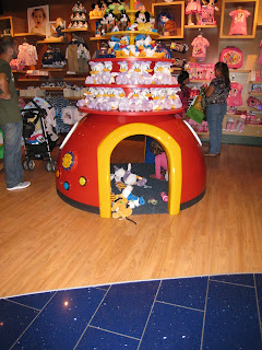 Disney kid's play area
