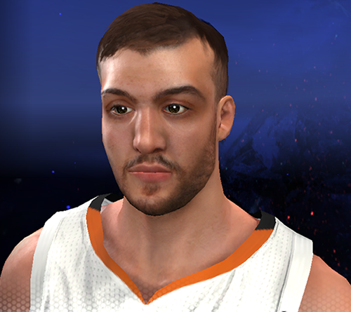 NBA 2K14 Miles Plumlee Cyberface Patch