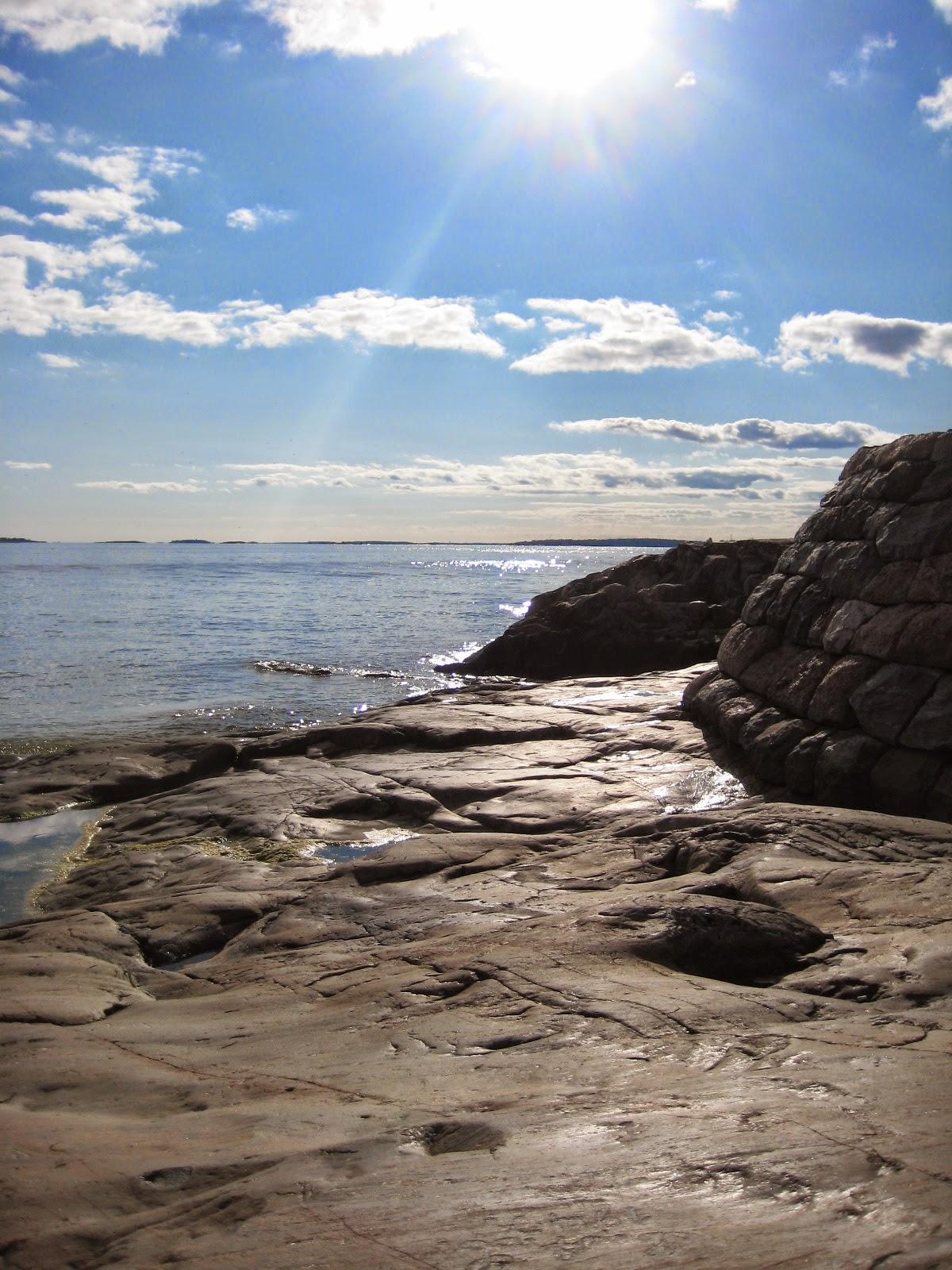 Suomenlinna meri sea kallio