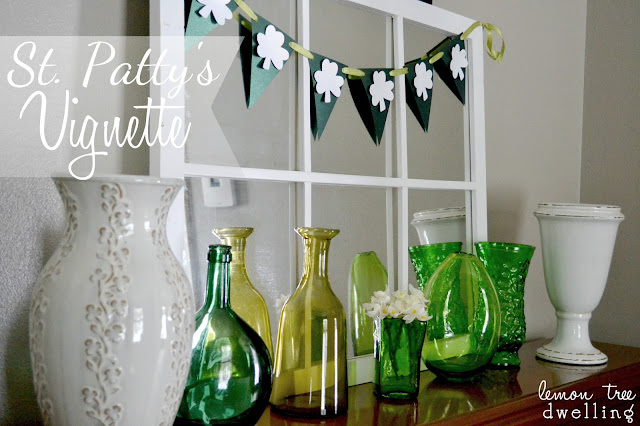 St.+Patty%27s+Vignette+6 Pinterest Power Party {9}