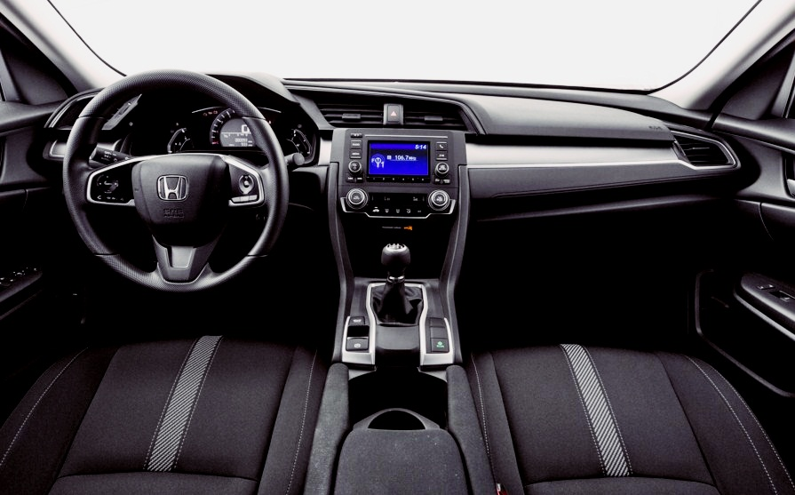 2016 Honda Civic EXL Sedan CVT with Navigation Review USA  Honda
