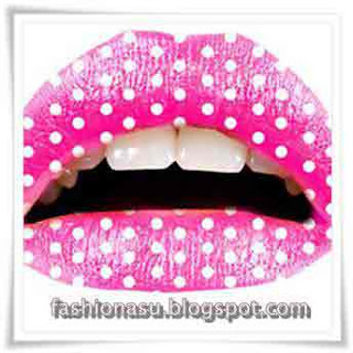 Trends-Teen's-Lips-Make-up-Fashion