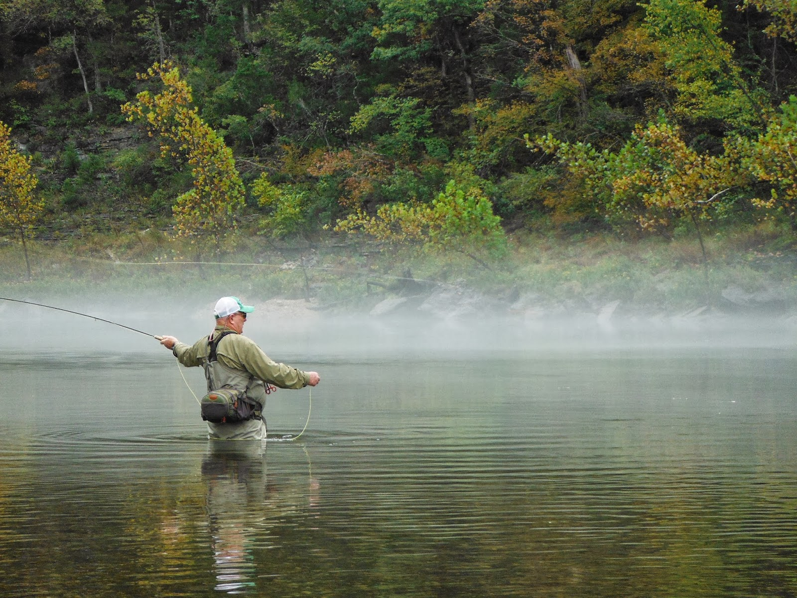 Northwest arkansas fly fishing journal beaver tailwater for Fly fishing arkansas