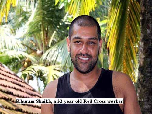 Tangalle Rape Victim Khuram Shaikh photo