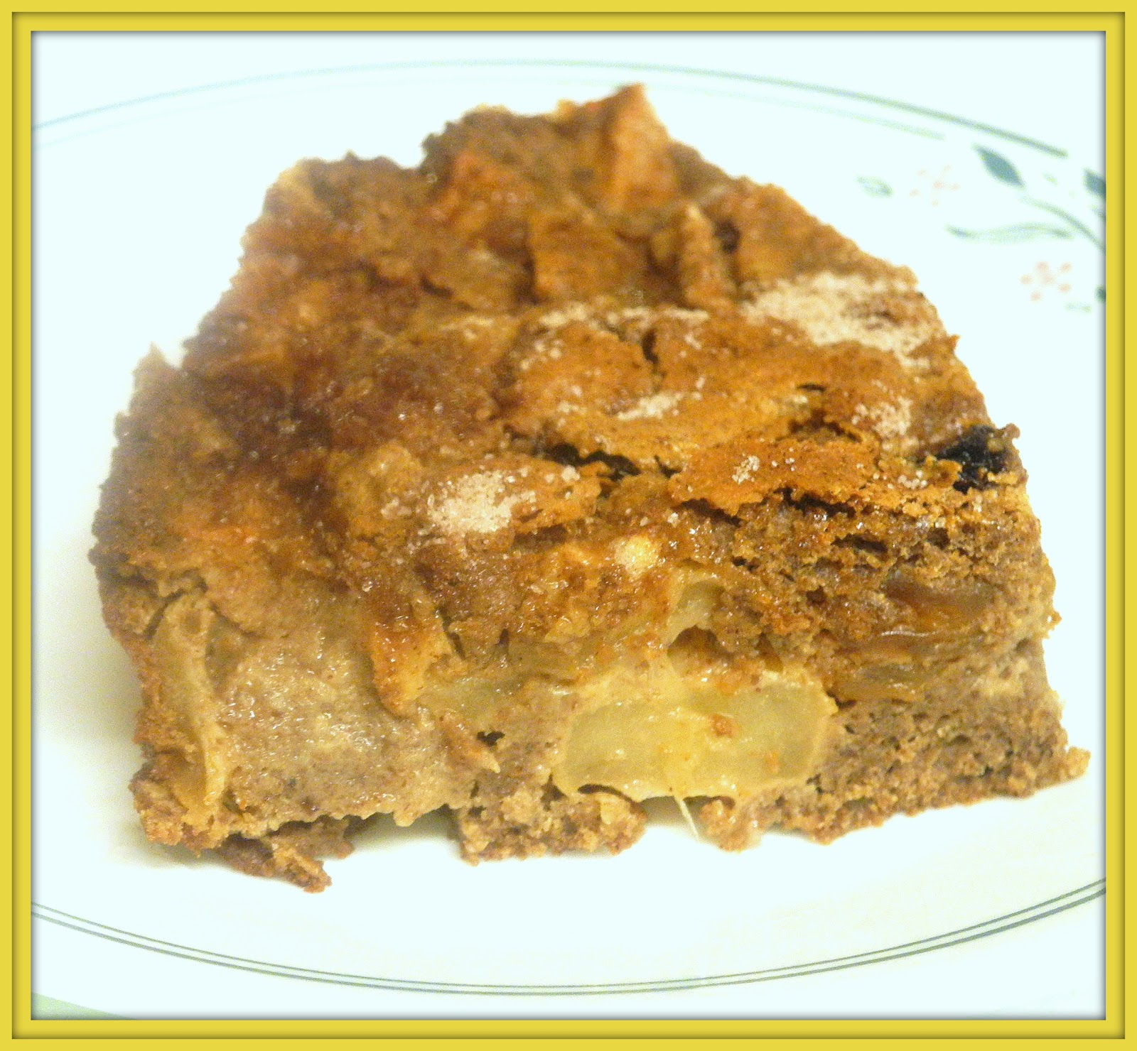 BIZZY BAKES: THB : Cinnamon-Apple Walnut Torte